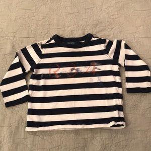 Ralph Lauren long sleeve tee 12 months